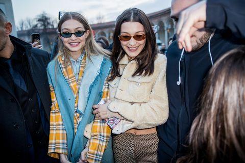 Gigi Hadid Bella Hadid Street Style