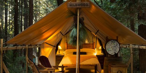 luxury camping tents
