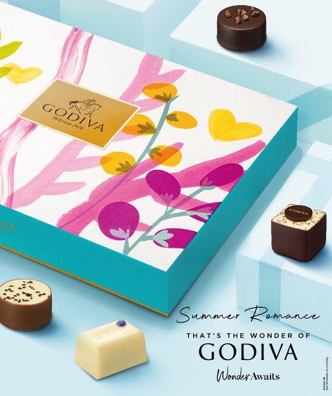 在家用儀式感迎接甜蜜七夕!godiva 2021夏之戀巧克力禮盒打造歐式浪漫午茶時光