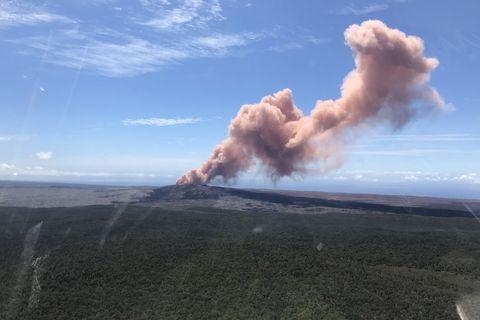 Hawaii Volcano Eruption 2018