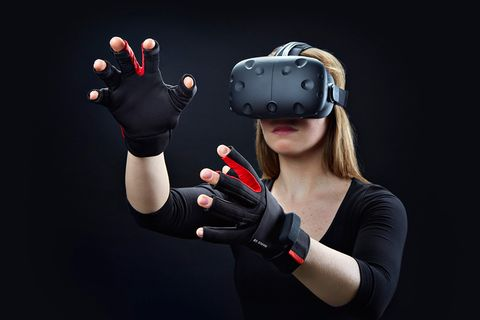 HTC Vive VR goggles