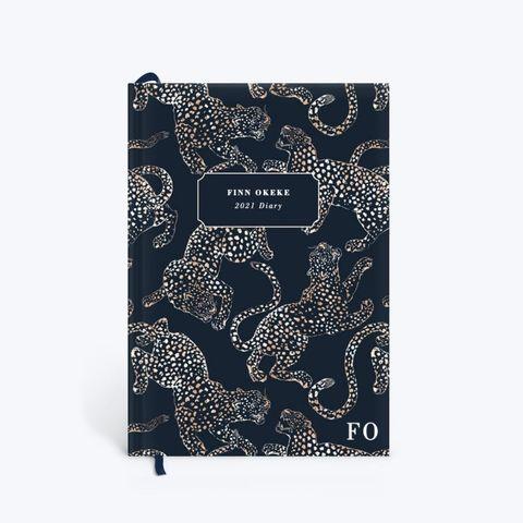 papier jaguar printed 2021 diary planner