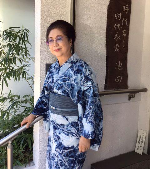池田由紀子 夏の刺繍帯
