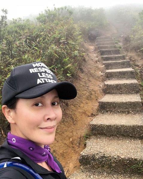 Selfie, Trail, Photography, Headgear, Tourism, Mountain, Tree, Travel, Temple, Recreation,