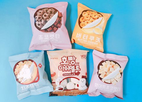 7-ELEVEN引進韓國YOUUS品牌商品,YOUUS是來自韓國最大便利商店GS25旗下的自有品牌。有餅乾零食和多款飲品。