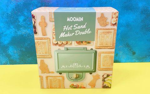 moomin 嚕嚕米熱壓三明治鬆餅機