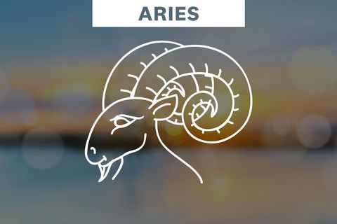 Aries horoscope symbol