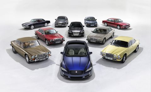 A Visual History Of The Jaguar Xj S 50 Years Of Elegance Feature