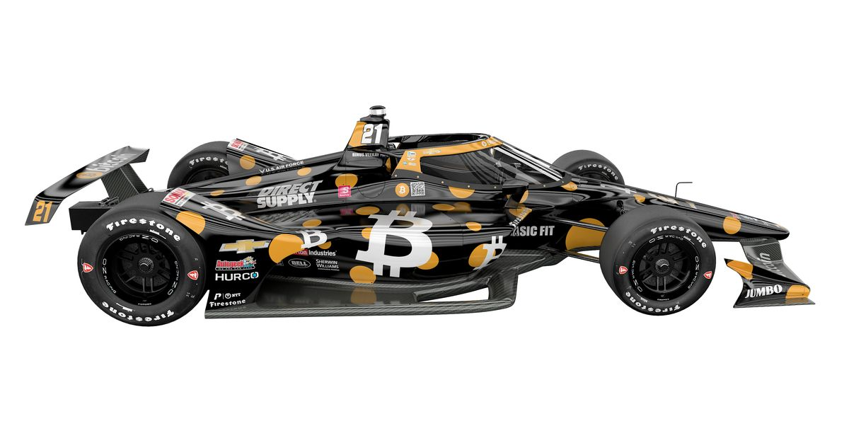 How Bitcoin Came to Fuel an Indy 500 Racing Team