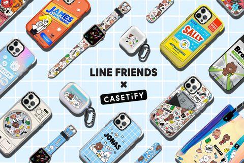 line friends x casetify 聯名系列