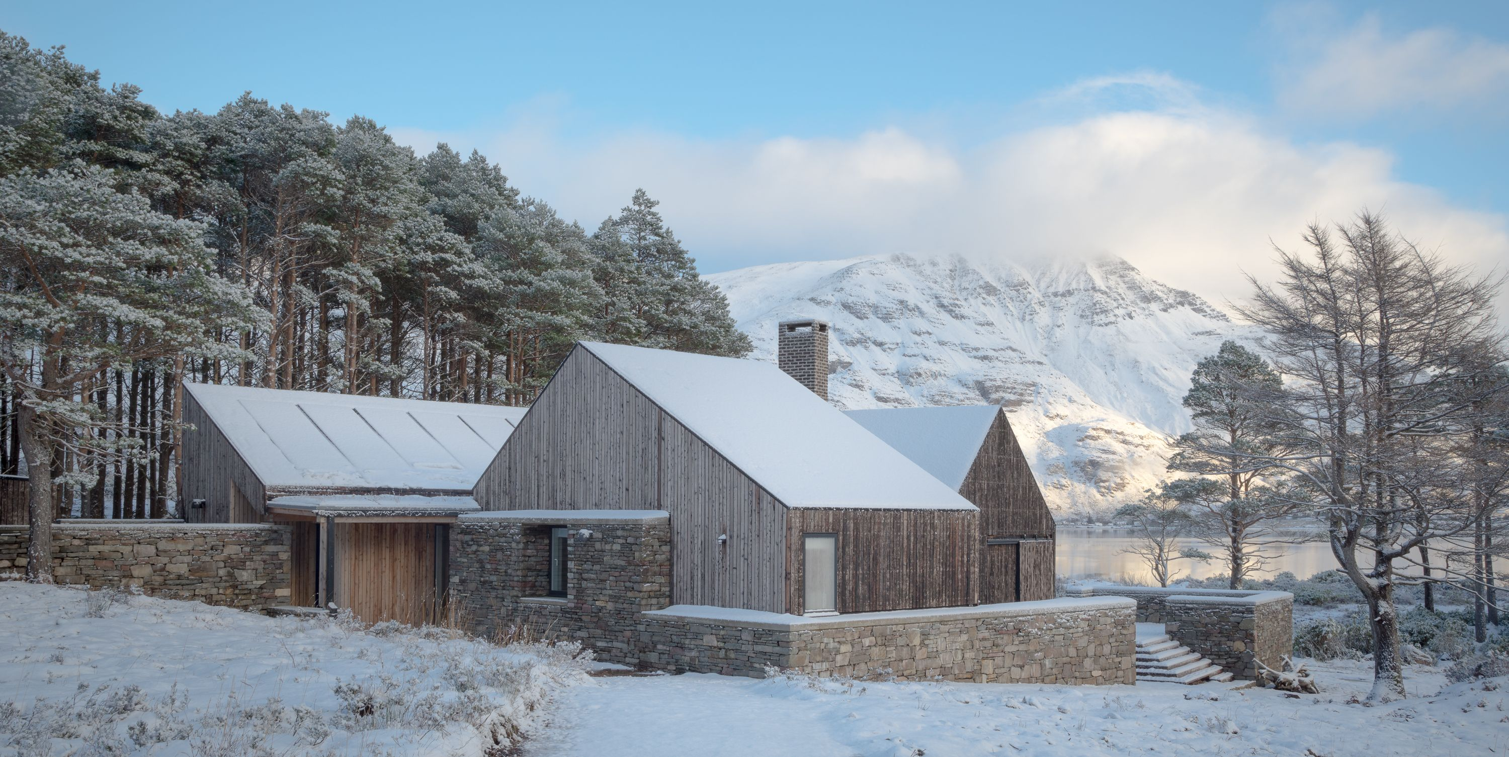Lochside House by HaysomWardMiller Architects  - RIBA House of the Year 2018 longlist