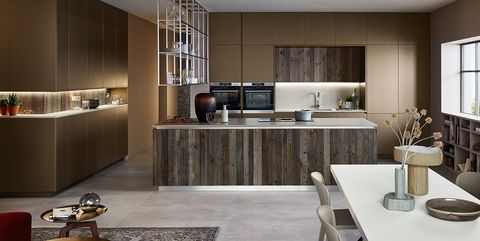 Veneta Cucine Grigio Corda.Free To Experience With Lounge The New Non Conventional Kitchens