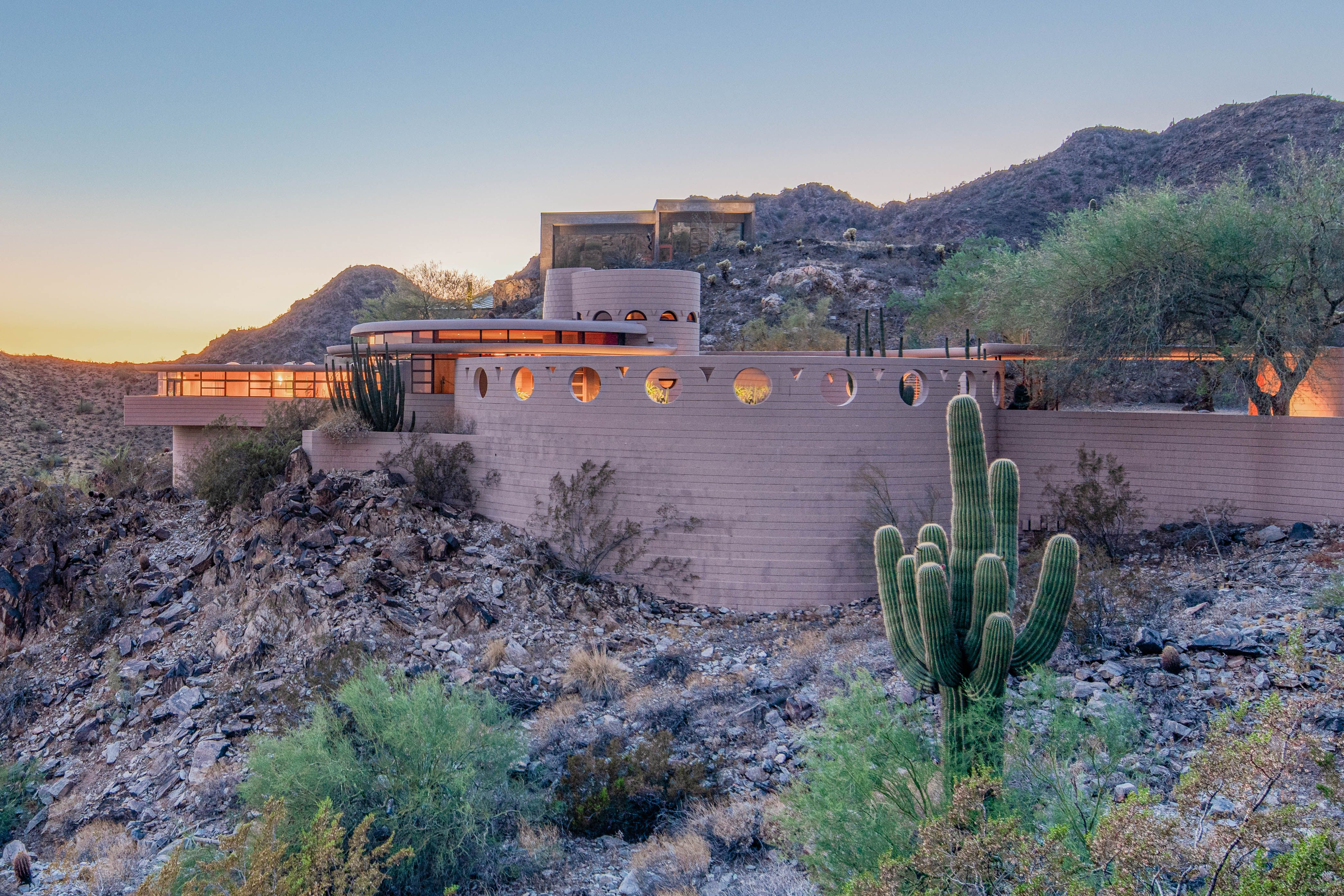 Frank Lloyd Wright's Final Residential Design Is Going Up for Auction