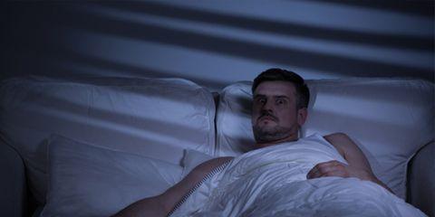 Nose, Comfort, Bedding, Linens, Muscle, Bed sheet, Knee, Pillow, Facial hair, Beard,