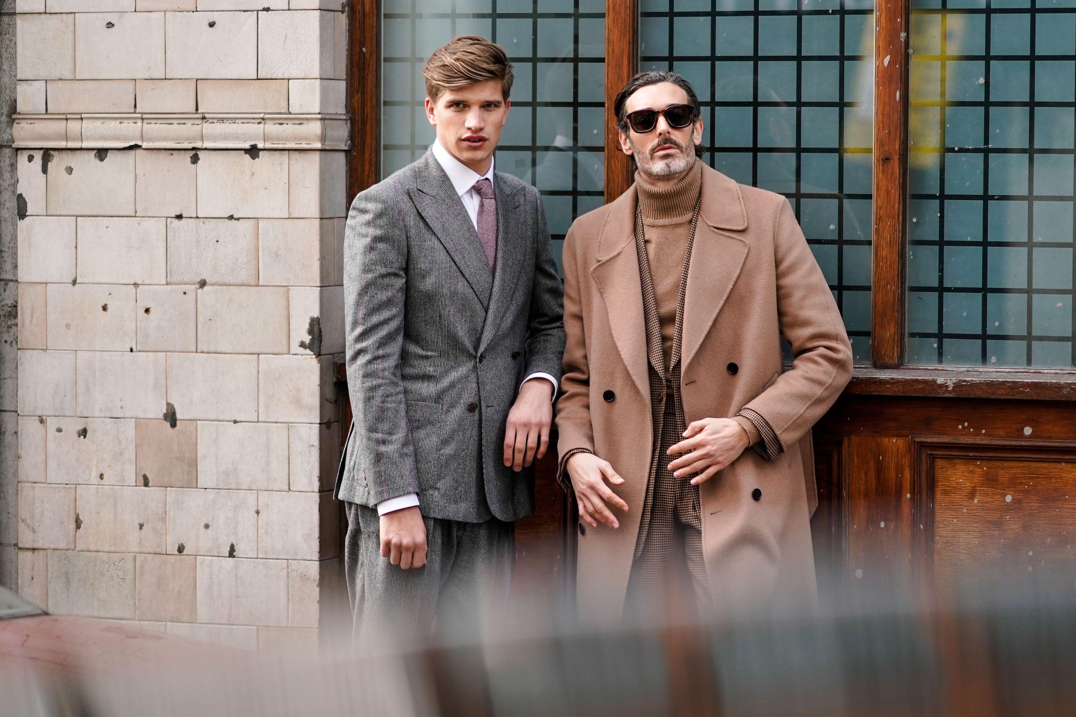 London Fashion Week Fall 2018 Menswear Street Style