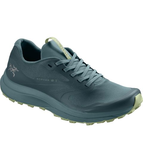 arc'teryx teal green trainers