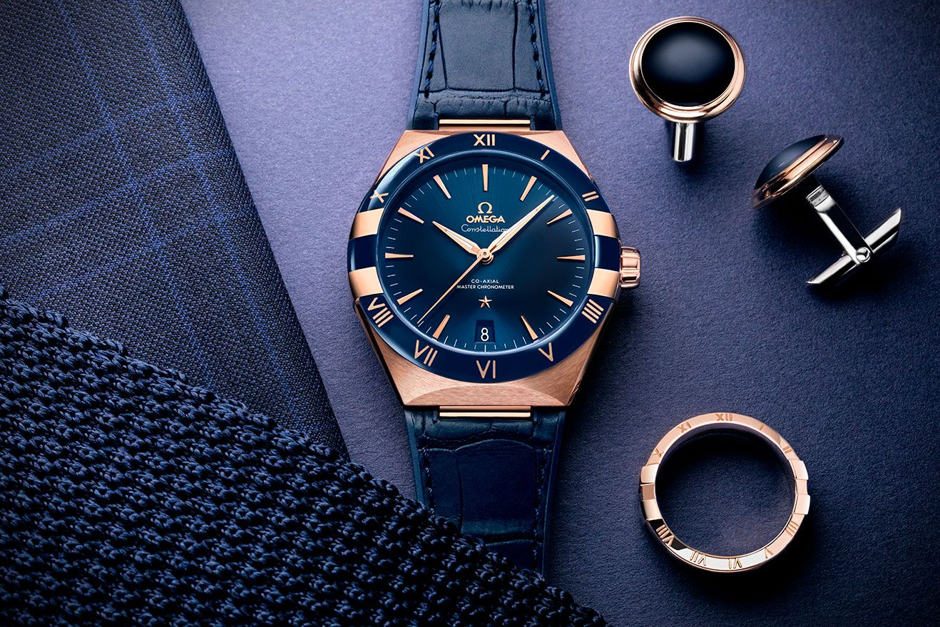 Take A Shine To Omega's New Constellation Watch Collection