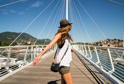 Beauty, Deck, Vacation, Summer, Bridge, Leg, Tourism, Muscle, Vehicle, Travel,