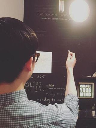 Room, Blackboard, Photography,