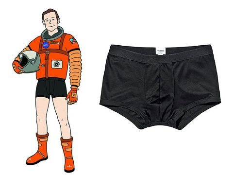 Clothing, Sportswear, Underpants, Briefs, Shorts, Personal protective equipment, Fictional character, Jersey, Trunks,
