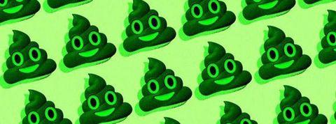 緑 っ ぽい 便