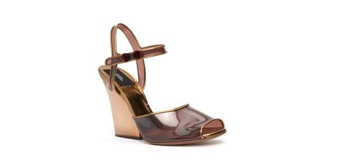 Footwear, Sandal, Shoe, Slingback, Brown, High heels, Beige,
