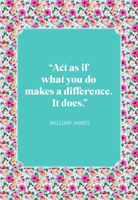 short inspirational quotes william james
