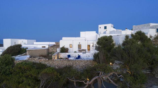 casa in grecia sull'isola di sicandro