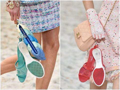 這雙CHANEL透明穆勒鞋,讓全球IG達人瘋狂!這個夏天必須投資一雙啊