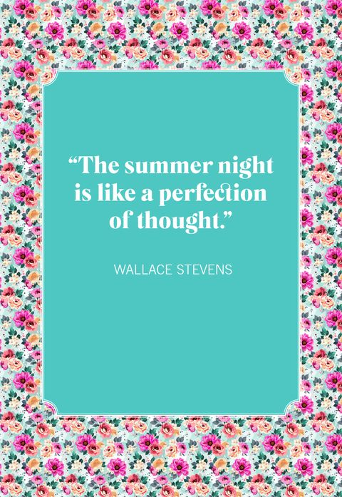 wallace stevens summer quotes