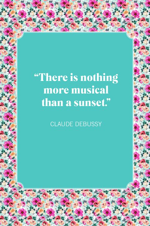 sunset quotes claude debussy