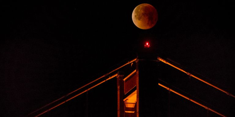 blood moon eclipse san francisco - photo #7