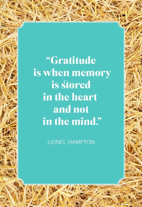 thanksgiving quotes lionel hampton