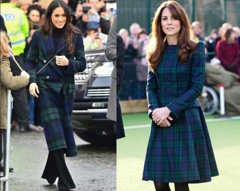 実は似てる?キャサリン妃とメーガンのドレス比較13