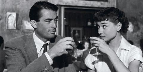 Film noir, Conversation, Photography, White-collar worker, Monochrome, Drinking,