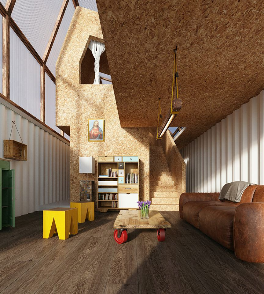 In Peru, Shipping Containers Become Low-Cost Modular Homes