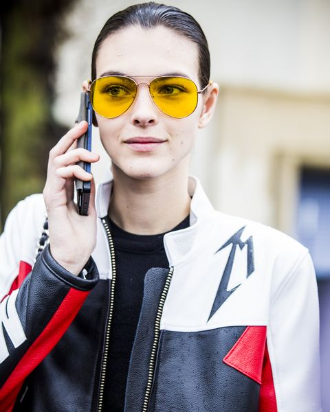 Tinted Sunglasses Trend Celebrity Runway