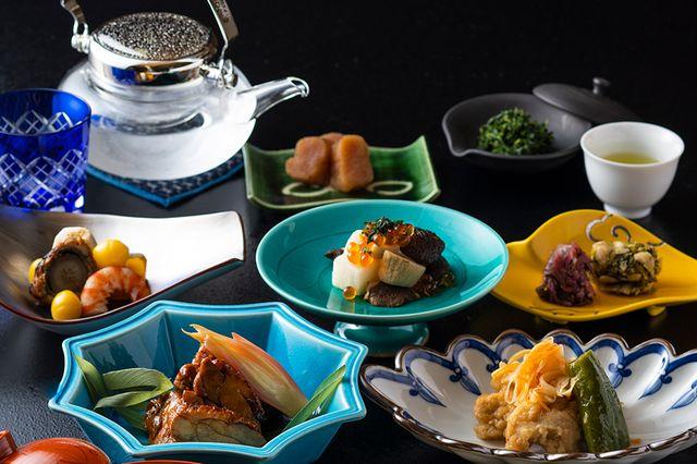 京料理鳥米の「京の涼風膳」