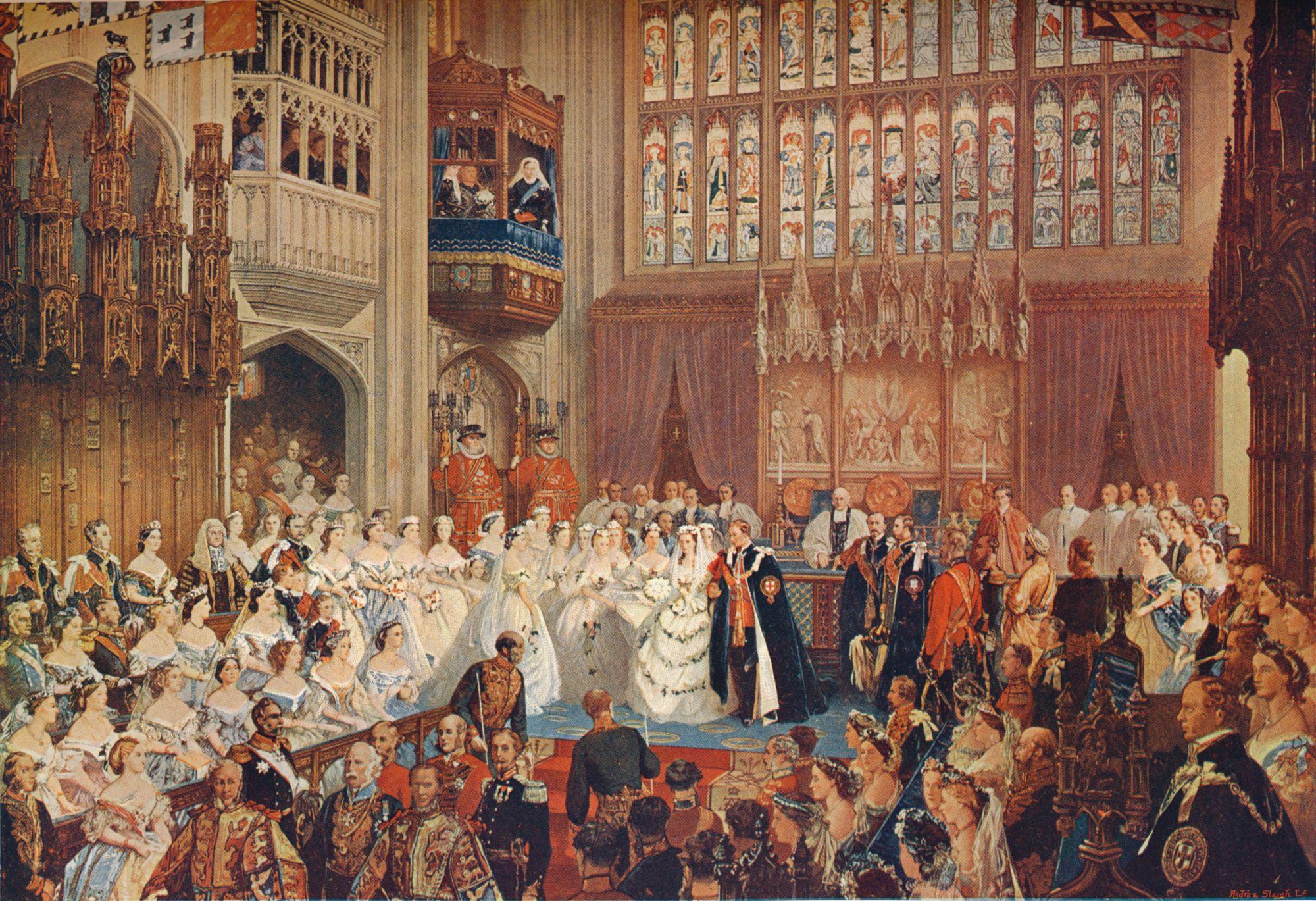 royal weddings at Windsor Castle