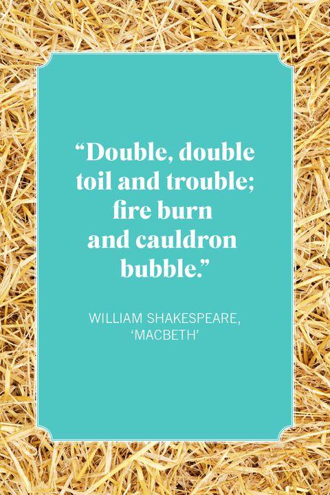 witch quotes william shakespeare