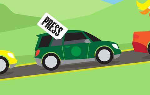 Press car