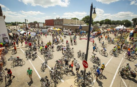 RAGBRAI Group Bike Ride