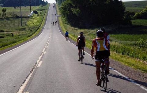 RAGBRAI Hills of Iowa