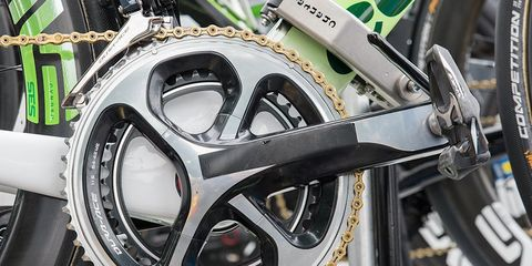 Mark Cavendish's Shimano Dura Ace Cranks and Pedals
