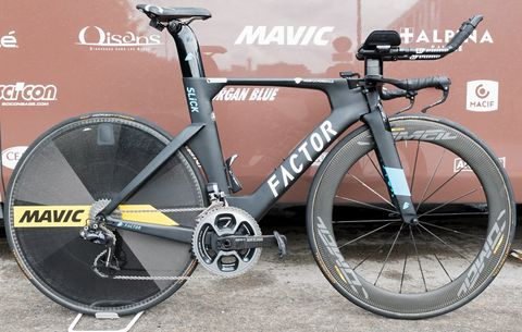 ​The Time Trial Bikes of the 2017 Tour de France