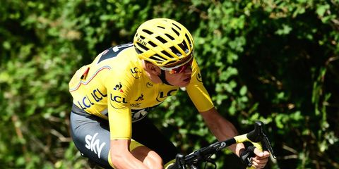 chris froome riding