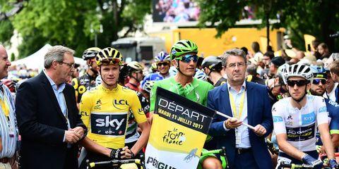 tour de france start of stage 10