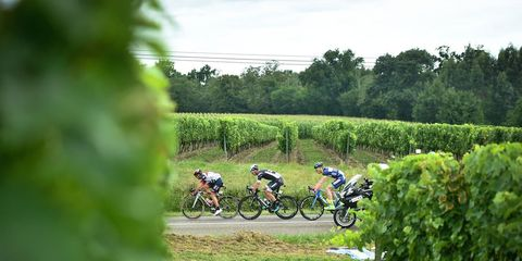 breakaway in stage 11 of the tour de france