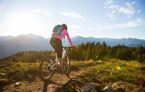 bicycling mountain