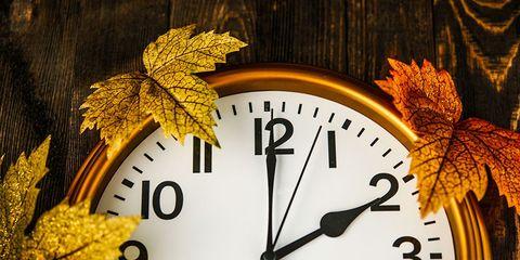 daylight savings time clock fall back